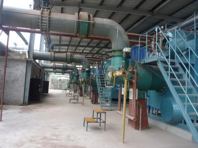 工厂废弃处理